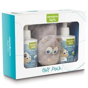MACROVITA BABIES SET: foam bath-shampoo 2in1 300ml + body lotion 150ml + FREE protective cream 100ml
