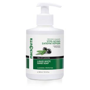MACROVITA LIQUID WHITE SOAP olive oil & camomile 300ml