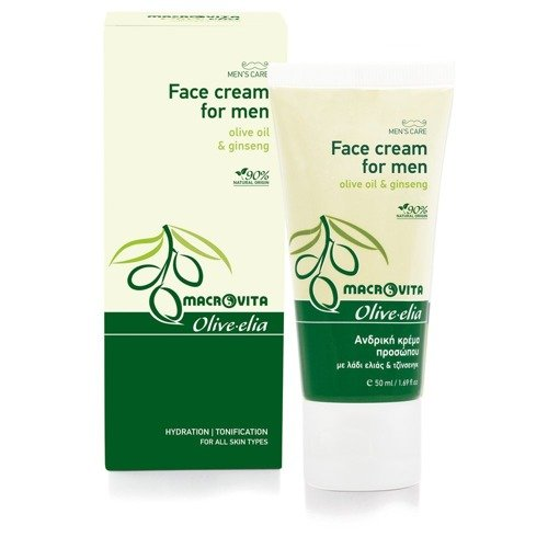 MACROVITA OLIVE-ELIA FACE CREAM FOR MEN 50ml
