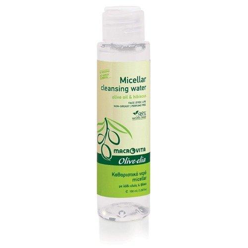 MACROVITA OLIVE-ELIA ΜICELLAR CLEANSING WATER olive oil & hibiscus 100ml