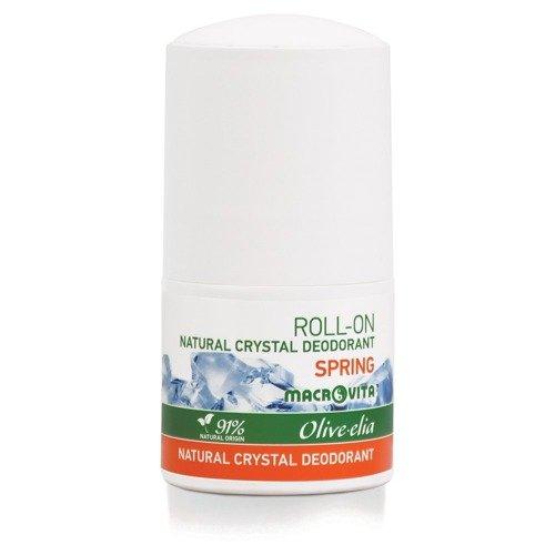 MACROVITA OLIVE-ELIA NATURAL CRYSTAL DEODORANT ROLL-ON SPRING 50ml