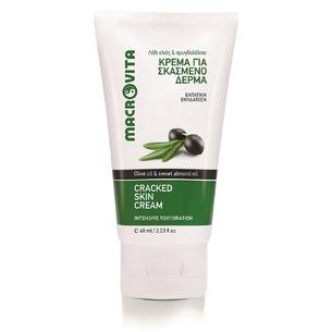 MACROVITA erweichenden Creme für Hände und Füße mit Bio-Olivenöl und Bio-Mandel-Öl 60ml