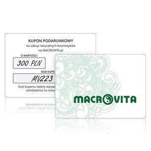 Kupon Podarunkowy MACROVITA o wartości 300 złotych