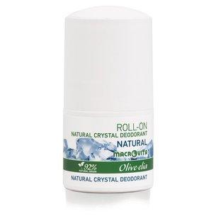 MACROVITA OLIVE-ELIA dezodorant roll-on z naturalnym kryształem NATURAL 50ml
